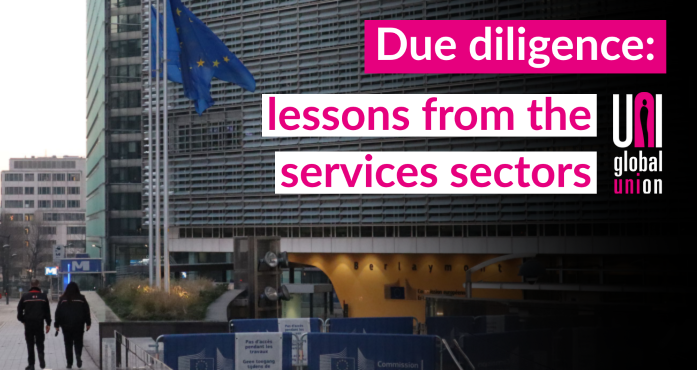 Due diligence: lessons from the services sectors